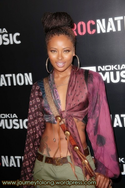 Eva Marcille at the grammys 2013