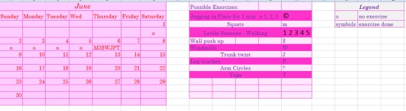 june workout