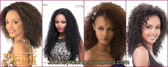 kinky curly half wigs
