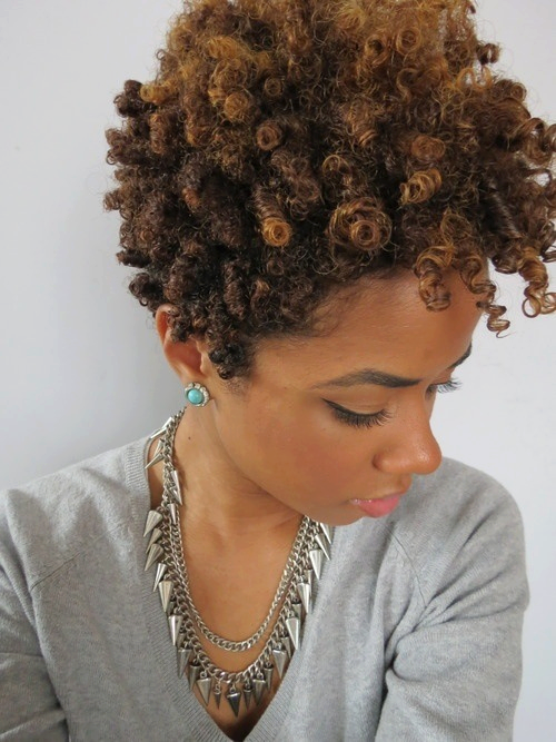 Natural Hair Styles For Short Hair
